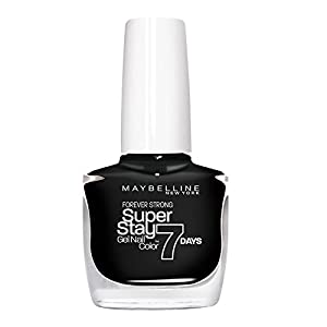 Maybelline SuperStay 7 Days 700 Black is Black - nail polishes (Black, Black is Black, France)