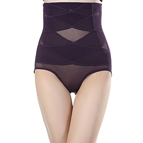 Fzmix Woman Slim Waist Seamless Underwear Abdomen with Breathable Waist Body Sculpting - Shapewear Tummy Control