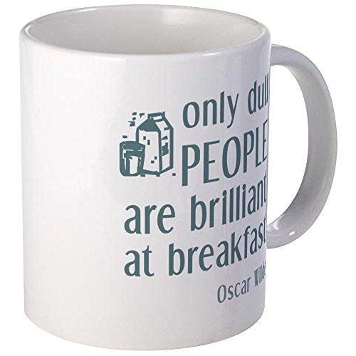 CafePress Einzigartige Tasse Wilde Brilliant bei Frühstückstasse–S Weiß, keramik, Weiß, Größe S