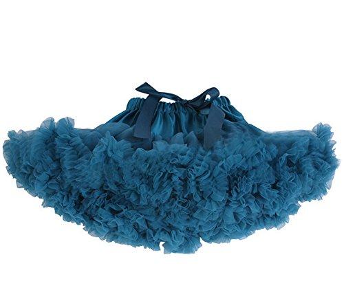 DELEY Damen Erwachsene Tutu Kostüm Princess Tanz Röckchen Puff Rock Petticoat Unterrock (Erwachsene Tutu Grün)