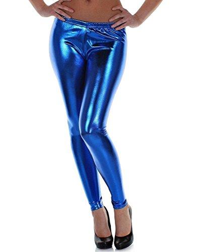 Mix lot Femmes Sexy métalliques leggings mousseux Ladies Shiny Collants usure parti / Club de taille 36-42
