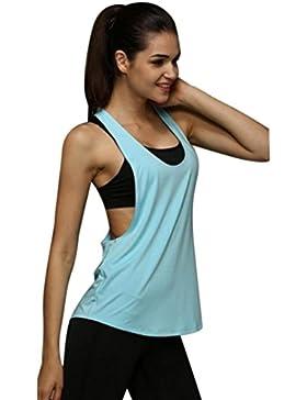Chaleco deportivo, Internet Chaleco del entrenamiento del deporte del gym del verano de las mujeres flojo