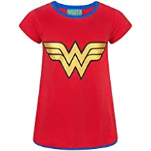 Amazon.es  camiseta wonder woman niña - Envío internacional elegible 251b34c8e7a21