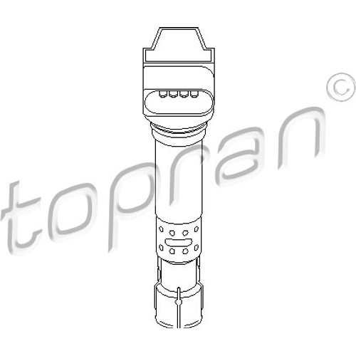 Preisvergleich Produktbild TOPRAN Zündspule, 109 039