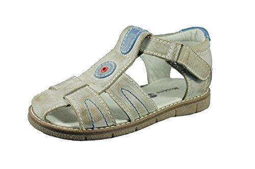 Modamo sandali Velcro scarpe bambini in vera pelle beige Gr: 30UVP 59,95& # x20AC;