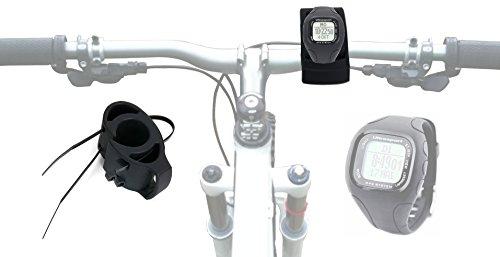 DURAGADGET Montaggio/Supporto Manubrio Bici per Ultrasport Navrun GPS Watch | Kalenji Timer Watch