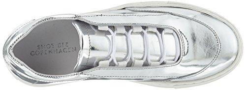Shoe Biz Cupsole Laze, Sneakers Basses Femme Argent (Silver Laminado)