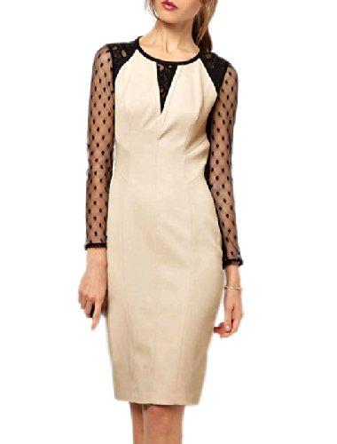 Pinkyee Damen Strandkleid Mehrfarbig - 117324-Pattern