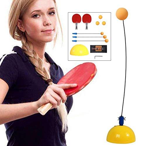 Trainer Roboter ballmaschine Tischtennis Training Roboter Feste Schnelle Rebound Tischtennisball Sauger Training Ping Pong Bälle Maschine Trainer Zubehör ()