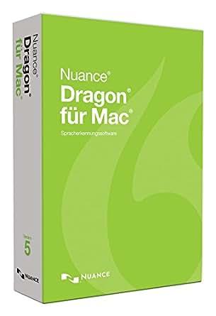 Dragon für Mac 5.0 Standard