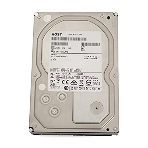 Hitachi HGST UltraStar 7K4000 3TB HUS724030ALE641 3,5' SATA3 64MB 7200RPM, RAID 24x7 ENTERPRISE -