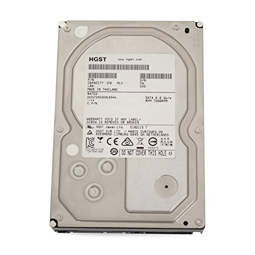 Hitachi HGST UltraStar 7K4000 3TB HUS724030ALE641 3,5' SATA3 64MB 7200RPM, RAID 24x7 ENTERPRISE - recertified