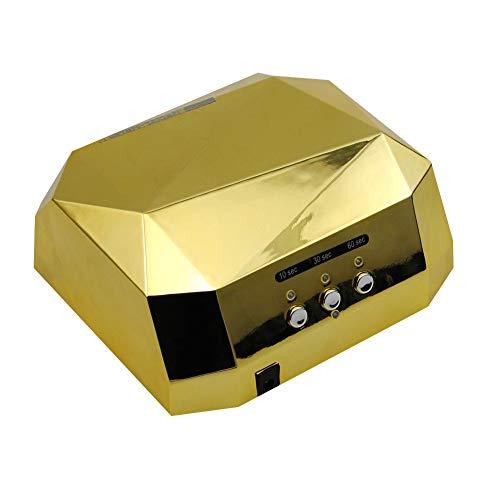 LJUNSEG Nageltrockner Lampe Für Nägel LED Trockner Nagel Diamantform 36 Watt UV Lampe Aushärtung für UV Gel Nagellack EU US Stecker Gel Nageltrockner Lampe