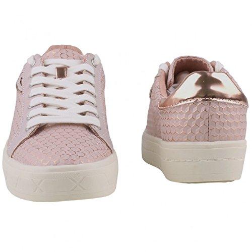 Tamaris 23604, Baskets Basses Femme Rose (ROSE STRUCT. # 972)