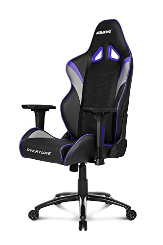 Akracing Gaming Stuhl OVERTURE schwarz/grau/violett