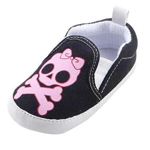 LoveLeiter 0 Monate-18 Monate Kinder Jungen Mädchen Sneaker Cartoon Print Stiefel Kinder Baby Freizeitschuhe Baby Kleinkind Schuhe Babyschuhe Party Tragen Rosa Stoffschuhe