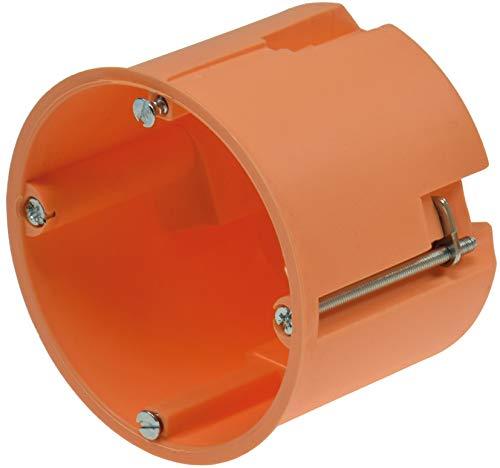 Hohlwand-Dose UP Ø 68mm 60mm Tief Geräte Dose für Steckdosen Schalter Unterputz Einbau Komponenten