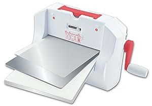 Mademoiselle Toga DC04 La Cut-It-All Machine de découpe Métal et Plastique Blanc 35,5 x 25,5 x 20 cm
