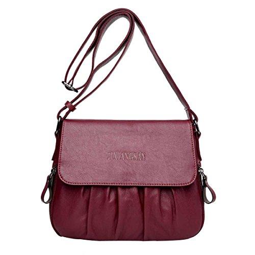 Damenmode Handtaschen Schultertasche winered