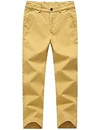 KID1234 Jungen Hose Chino Hose Slim Trousers Verstellbarer Taille  Baumwollhose Pants für… 56174918ba