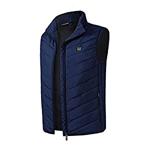 41u7yuGWpvL. SS300  - Electric Heating Vest Men's Heated Jacket Sleeveless USB Charge Warm Body Breathable Lightweight Coat Clothing Outdoor…