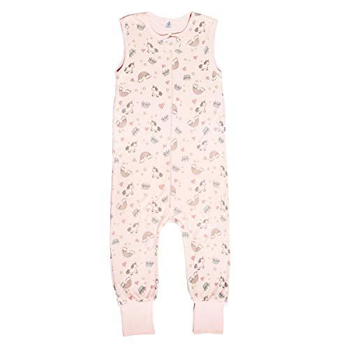 Booboobro Unisex Baby Schlafsack mit Beinen 100{4ff1e65dd05622319cfb9d090d30b358a7e5604b791b3566926c44c1f868201c} Bambus