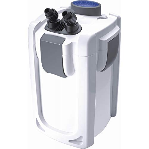 SunSun HW-703B Aquariumaußenfilter 1400 L/h 30 W mit 9 W UVC und 3 Stufen Filter Aquarium