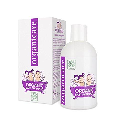 ORGANICARE Bio Baby Shampoo & Waschgel, mild und sanft, Vegan, 250 ml