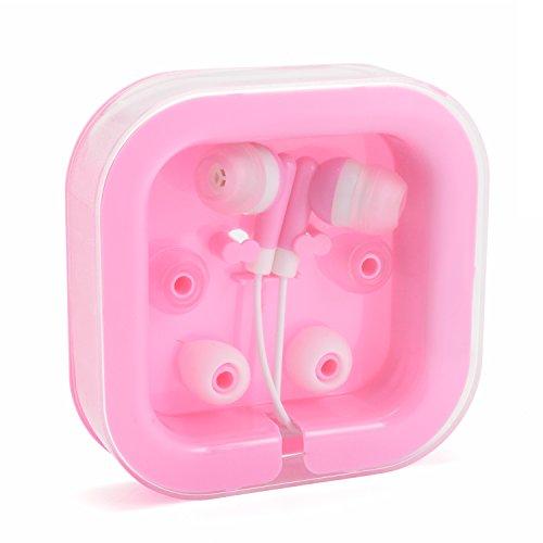 Kopfhörer In-Ear für Smartphone und andere Geräte Rosa