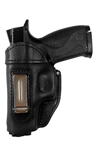 IWB 3 Leder Holster für Smith & Wesson M&P 9 40 45 M&P 9c compact ! ! ! LINKSHÄNDER ! ! !