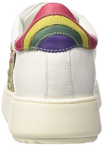 Twin Set Milano Ca7pf3, Sneaker a Collo Basso Donna Bianco (Bianco Ottico)