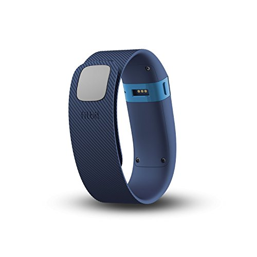 Fitbit Charge Wireless Activity Tracker with Sleep Wristband – Blue, Large