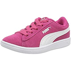 Puma Vikky AC PS, Sneakers Basses Fille, Rose (Beetroot Purple White 01), 31 EU