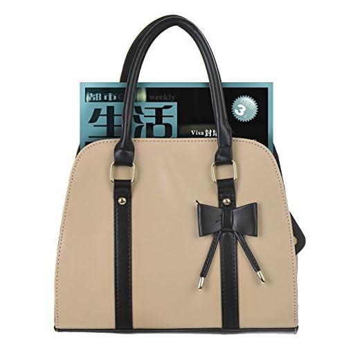 Hot Womens Vintage Messenger Handbag Shoulder Bag Tote with Bow