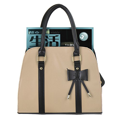 - 41u80ZIsPKL - Hot Womens Vintage Messenger Handbag Shoulder Bag Tote with Bow