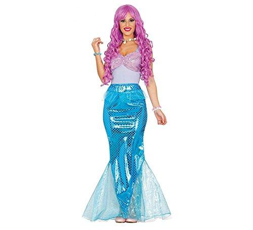 Guirca- costume ariel sirenetta sirena, multicolore, l, 84584