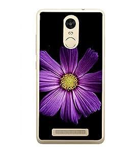 Beautiful Purple Flower 2D Hard Polycarbonate Designer Back Case Cover for Xiaomi Redmi Note 3 :: Xiaomi Redmi Note 3 Pro :: Xiaomi Redmi Note 3 MediaTek