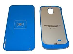 Vhbw chargeur sans fil qI wireless appareil avec adaptateur de batterie pour samsung galaxy nOTE 4 iV sIV i9500 gT-i9505 gT-i9502 sCH-i545 sGH-i337 sGH-n055–e300L sHV