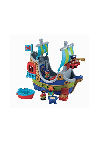 Image of Early Learning Centre Figurines (Happy land Pirate Ship)
