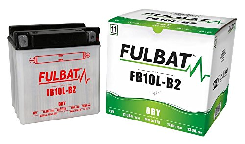 Piaggio X7 125 2008, X8 125 2004, FB10L-B2 DIN51112 DRY Fulbat Batterie m. Säurepack