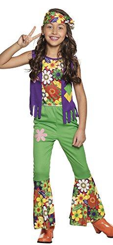 Dress Flower Kostüm Fancy Girl - Boland Kinderkostüm Hippie Girl