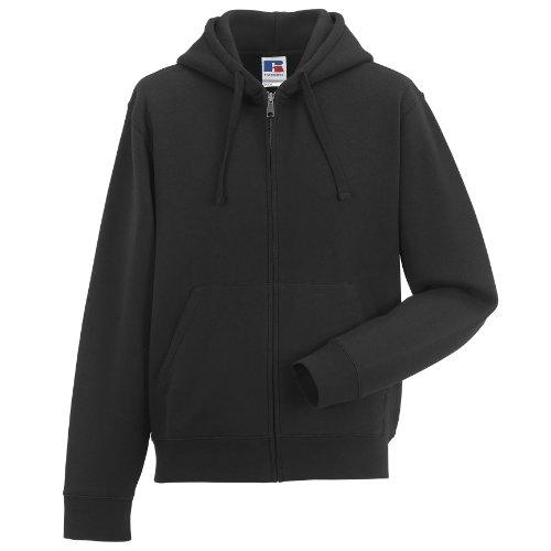 russell-mens-authentic-full-zip-hooded-sweatshirt-hoodie-m-black