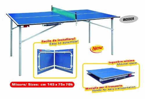 Tavolo ping pong pieghevole a valigetta Forma