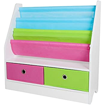 Peppa Pig Kids Sling Bookcase Bedroom Storage By Hellohome Amazon Co Uk Kitchen Amp Home