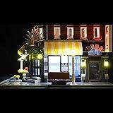 POXL Set di Luci per Cafe Corner, Kit di Illuminazione LED Luce LED Light Compatibile con Lego 10182 - Non includere Il Set Lego