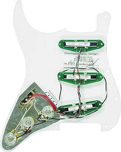 DiMarzio Battipenna pre-cablato per Strat - HIGH POWER setup - bianco - FG2108WA7