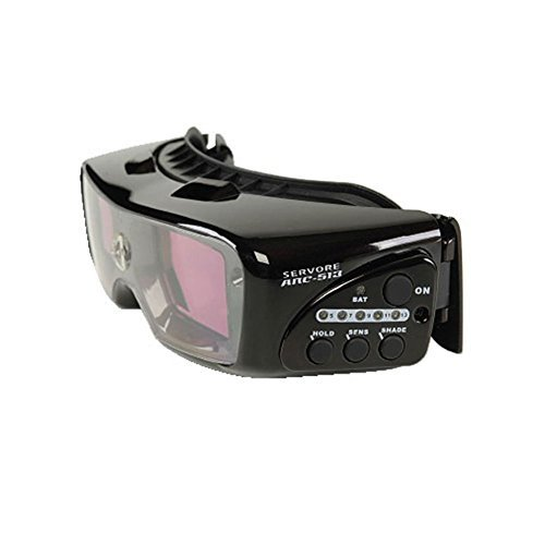 Servore Auto Shade Darkening Welding Goggle Arc-513 Arc513 World's First Tig by Servore