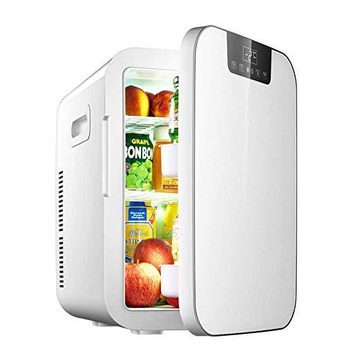 WMG& Mini-Autokühlschrank, tragbarer 12-V-Autokühlschrank, Mini-Kühlschrank mit doppeltem Verwendungszweck, Kleiner Kühlschrank und Gefrierschrank - Mini-kühlschrank-schlüssel