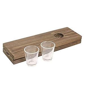 Mister Gadget-Juego de beber, mg3143, marrón