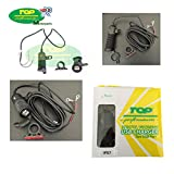 Prise connecteur charge batterie double USB 1224V pour piaggio mP3300moto et scooter